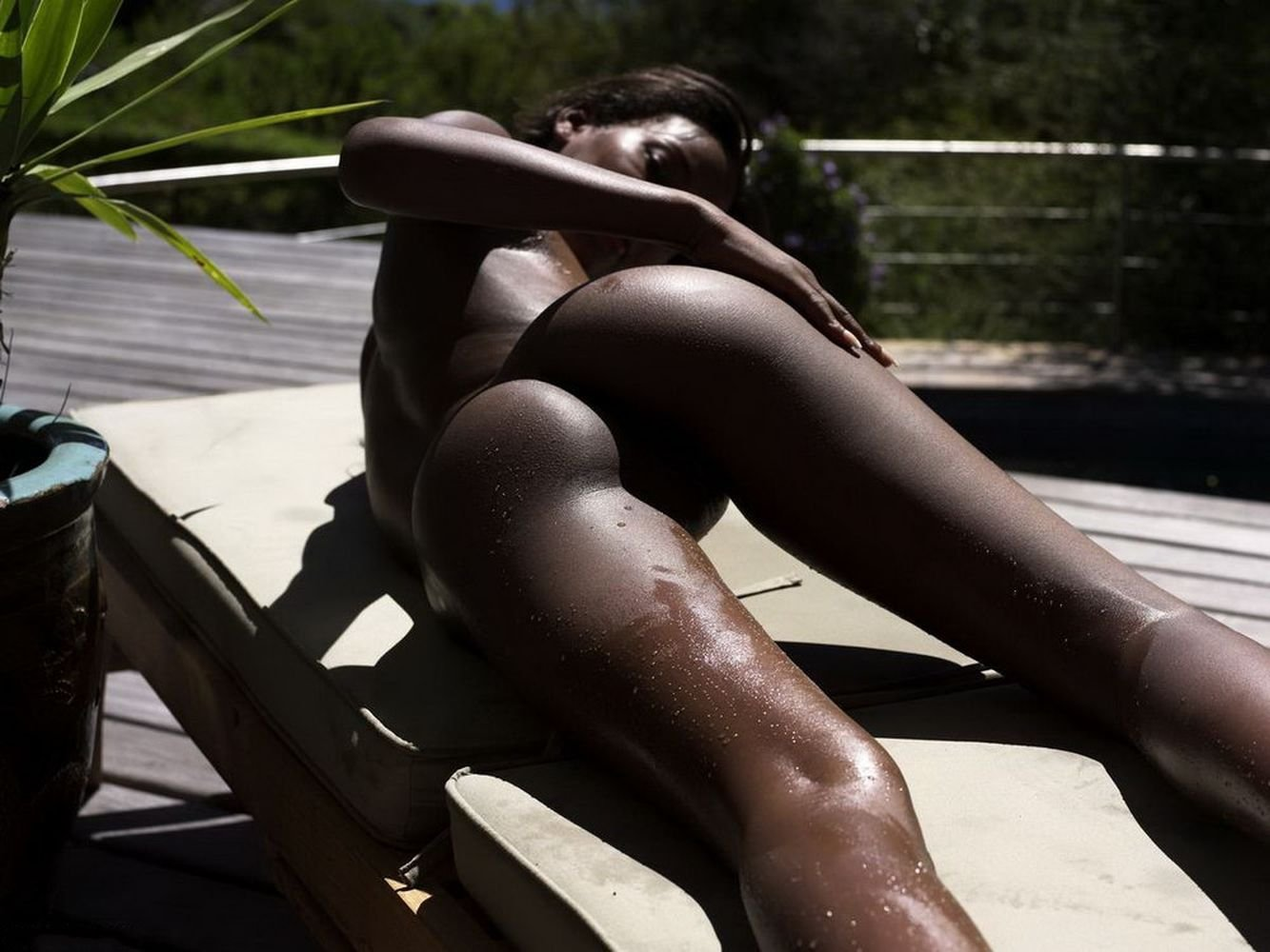 Фото голых красивых негритянок