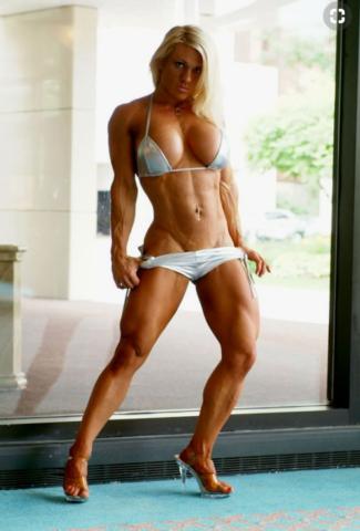Melissa Dettwiller — сексуальная модель бодибилдер